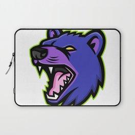 Tasmanian Devil Head Mascot Laptop Sleeve