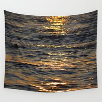 sparkle Wall Tapestries featuring Sparkle by L Shannon Designs