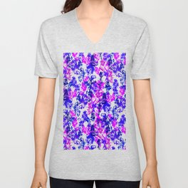 Abstract 182 Unisex V-Neck
