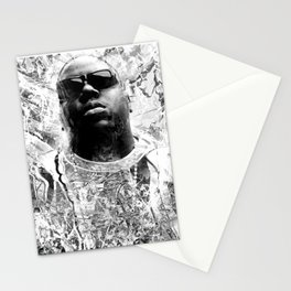 RIP BIGGIE (BLACK & WHITE VERSION) Stationery Cards