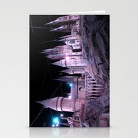 hogwarts Stationery Cards featuring Hogwarts by Anabella Nolasco