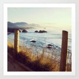 Oregon Coast View Art Print