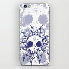 Salomonic skull  iPhone & iPod Skin