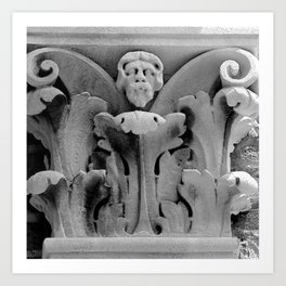 Acanthus Man Art Print