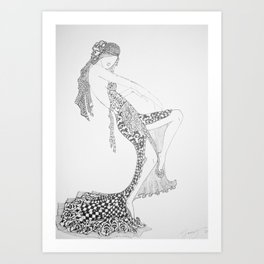 Dancer Series - Costello Art Print