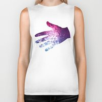 mosaic Biker Tanks featuring MOSAIC by INA FineArt