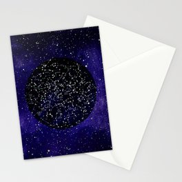 Celestial Map - Northern Hemisphere  Stationery Cards