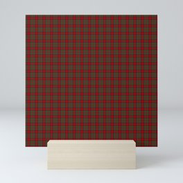 The Royal Stewart Clan Christmas Tartan Mini Art Print
