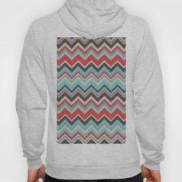 Aztec chevron pattern- grey Hoody