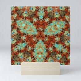 Scifi Rustic Geometric Mini Art Print