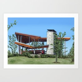 Corktown Commons Art Print