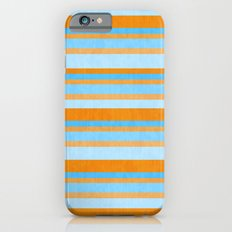 Something Fishy Stripes. iPhone 6s Slim Case