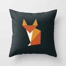 Little Fox Throw Pillow