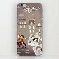 amelie iPhone & iPod Skins featuring Amelie by The Fan Wars