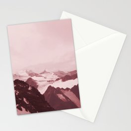 No limits - red Stationery Cards