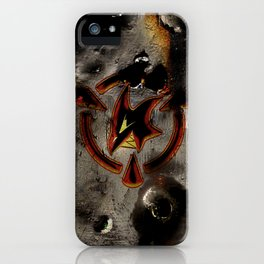 Red: Logo iPhone Case