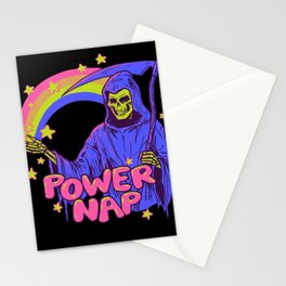 Power Nap Stationery Cards