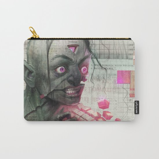 Self Analysis Defrag Carry-All Pouch