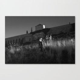 Evening in Segovia Canvas Print