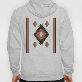 New Mexico Southwest Santa Fe Tribal Indian Pattern Hoody