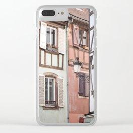 Strasbourg Corner Clear iPhone Case