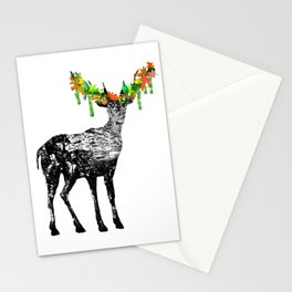 Fallow deer Stationery Cards