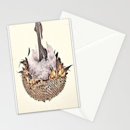Sunflower in Winter Stationery Cards