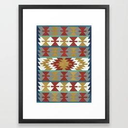 kilim II Framed Art Print
