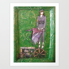 Stamen Art Print
