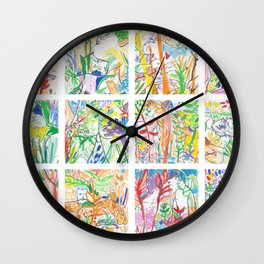 Nature of Men II Wall Clock