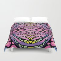 chemistry Duvet Covers featuring Brain Chemistry - Front by - r u b e n d a r i o -
