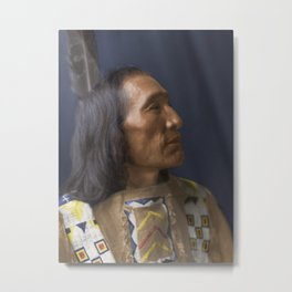 Little Dog - Brulé Lakota Sioux - American Indian Metal Print