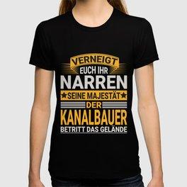 Kanalbauer Design für einen  Kanalbauer T-shirt