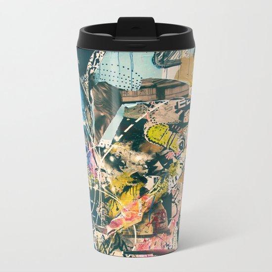 Graffiti is Art (Abstract) Metal Travel Mug
