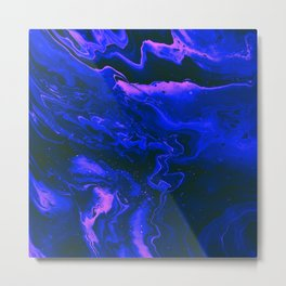 Beautiful Abstract Art Texture  Design Metal Print