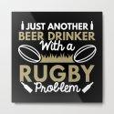 Beer Drinker Rugby by vectorplanet