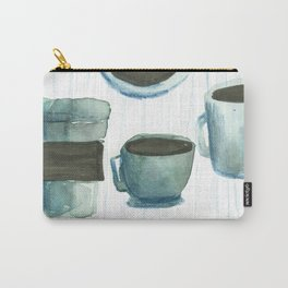 coffees watercolor Carry-All Pouch