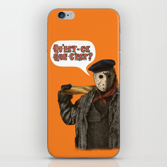 Psycho Killer iPhone & iPod Skin