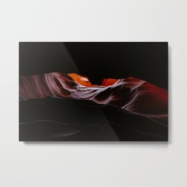 Antelope Canyon 4k 5k Wallpaper Metal Print