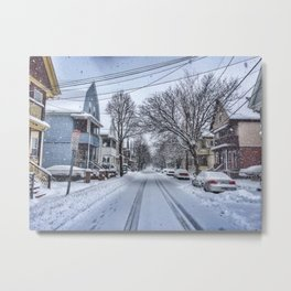 Snow Daze Metal Print
