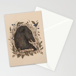 Beware, the Black Shuck Stationery Cards