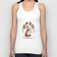welcome Tank Tops featuring Welcome! by I TOPI DI CICE