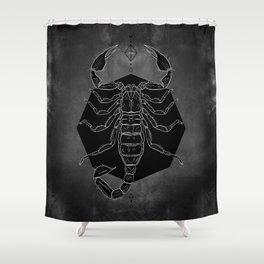 Scorpion Vignette Shower Curtain