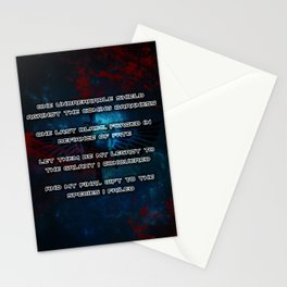 Space Marines Stationery Cards