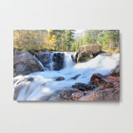 Autumn's Peacefulness Metal Print