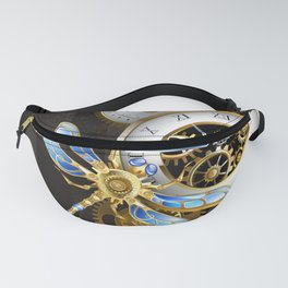 Dials with Dragonfly ( Steampunk ) Fanny Pack
