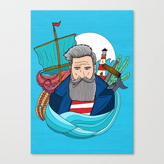 The Sailor Canvas Print