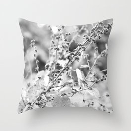 A touch of grey Throw Pillow