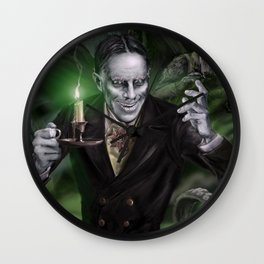 "Zacherley ""The Cool Ghoul"" Wall Clock"