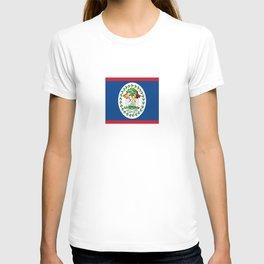 flag of belize-Belice, Belizean,Belize City,beliceno,Belmopan T-shirt